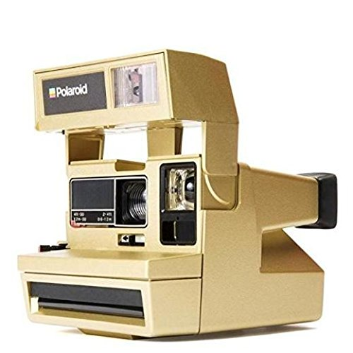 Polaroid 600 Sofortbildkamera One Step Close up - gold - (4629) ** Sonderedition **