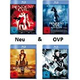Resident Evil 1-4 Blu Ray Bundel