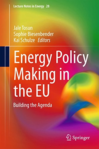 Energy Policy Making in the EU: Building the Agenda (Lecture ...