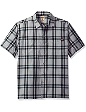 Dickies Camisa campamento de camiseta de manga corta para hombre
