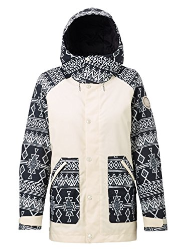 Burton Damen Eastfall Jacket Snowboardjacke Canvas/True Black Mojave S