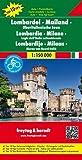 Lombardei - Mailand - Oberitalienische Seen, Autokarte 1:150.000, Top 10 Tips: Toeristische wegenkaart 1:150 000 (freytag & berndt Auto + Freizeitkarten)