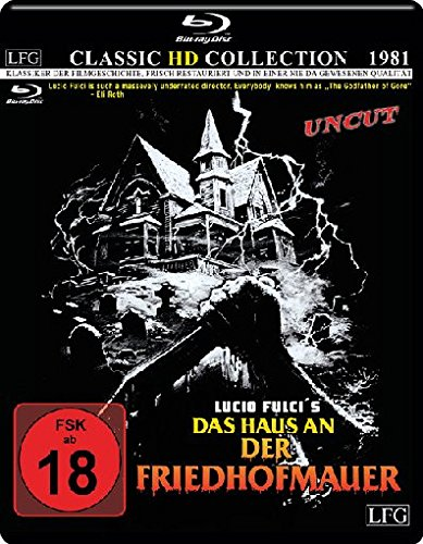 Das Haus an der Friedhofmauer - Uncut - Classic HD Collection # 9 (mit Wendecover) [Blu-ray]