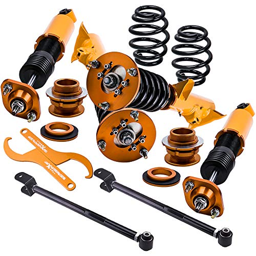 ZYauto Coilovers and Rear Lower Camber Control Arms, used for sale  Delivered anywhere in UK