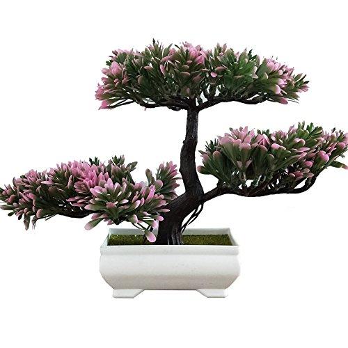 jianbo Künstliche Pflanzen,Japanischer Pinien Mit Schale,Home Hochzeit Dekoration/Lucky Deko, 103