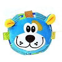 Preisvergleich für Baby-lustiges Spielzeug Baby Lovely Dog Soft Hand Rasseln Bell Kinder Baby Funnny Crawlen Bell Ball Spielzeug Geschenk