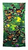 Nickelodeon Ninja Turtles 'Green Brick' Bath Towel