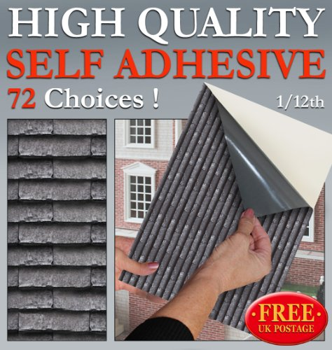 no-56-roof-tile-grey-slate-new-self-adhesive-dolls-house-wallpaper-1-12th-scale-sheet-size-12-1-12-w