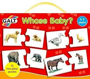 Galt - GA1003316 - Puzzle - Jeux d'Association - A Qui est ce Petit ?