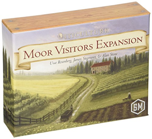 Viticulture Moor Visitors Expansion – Board Game – Brettspiel – Englisch – English