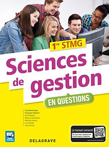 Sciences de gestion 1e STMG : Pochette élève