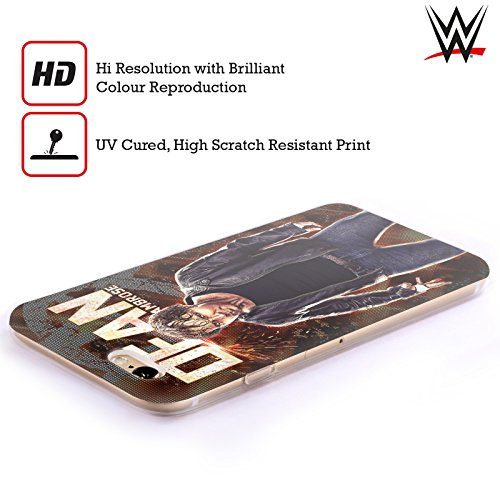 Offizielle Wwe Roman Reigns Superstars Soft Gel Hülle für Apple iPhone 6 / 6s Dean Ambrose