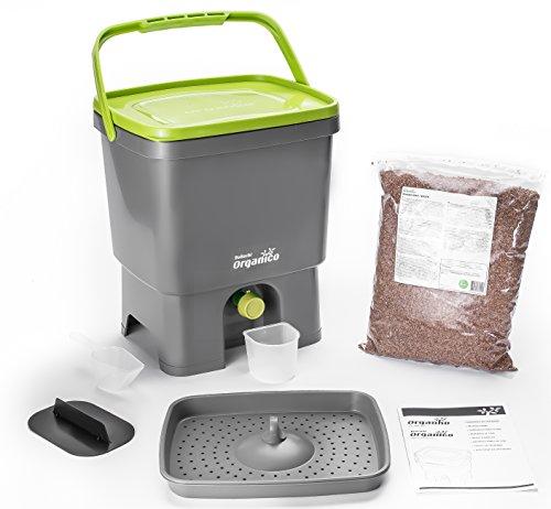 bokashi Orga Nico Juego–innovadora bio Cubo de basura para basura de cocina y Compost