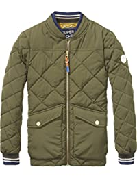 Scotch & Soda Quilted Bomber Jacket, Chaqueta para Niños