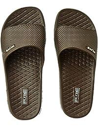 df771e575dd1a Amazon.in  Brown - Flip-Flops   Slippers   Men s Shoes  Shoes   Handbags