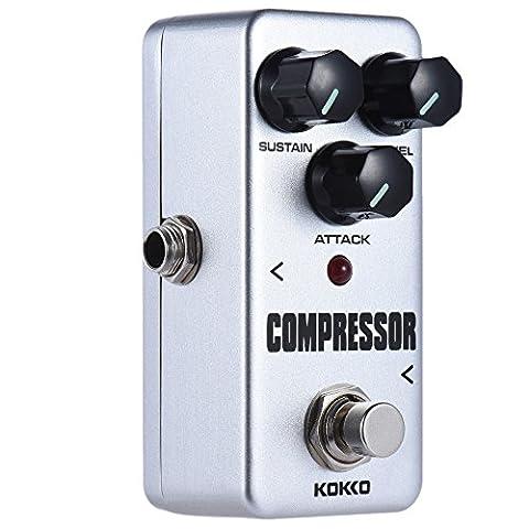ammoon Guitar Effect Pedal Mini Compressor