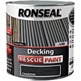 Ronseal drpch25l 2,5 l Decking Rescue Pintura, color gris