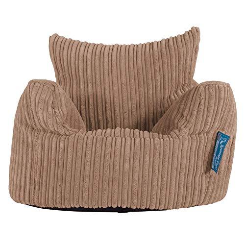 Lounge Pug®, Kindersessel Sitzsack, Sitzsack Kinder, Cord Sand -
