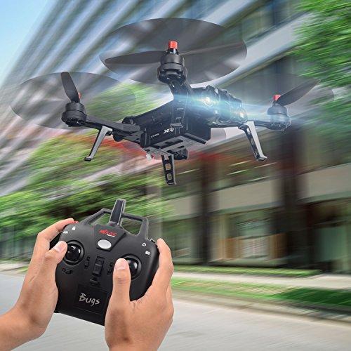 MJX B6 Bugs6 Drone Smart Transmitter Alarmfunktion Quadcopter Unterstützen GoPro Kameras und Sportkameras mit Brushless Motor / High Capacity Battery / Verbessern Propeller von TIME4DEALS - 3