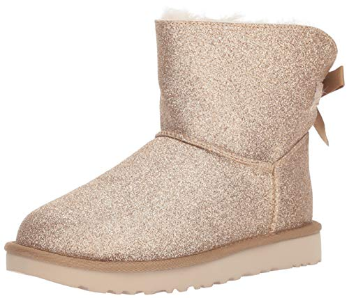 UGG Australia Damen Stiefeletten Mini Bailey Bow Sparkle Gold 1100053 Gold 538478 -