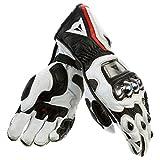 Dainese Guanto Full Metal Pro - Sporthandschuhe, Farbe weiss-schwarz-rot, Größe S / 7