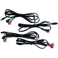 Compex 4 - Cinturón de tonificación para fitness, color negro, talla única