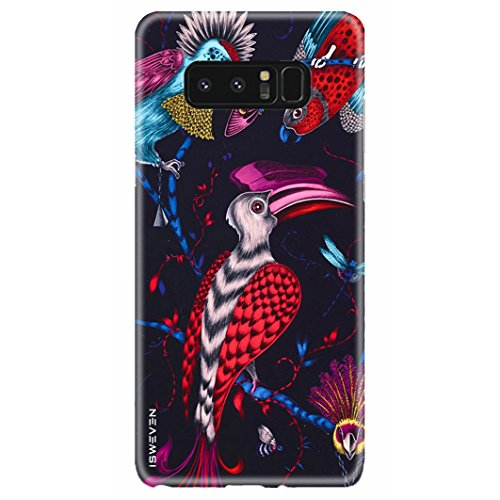 iSweven Samsung Galaxy Note 8 Back Cover Printed 3D Flexible Slim Premium Designer Full Body Protection Antishock Matte Finish Case for samsung note 8 (3423 Art)