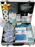 Medizinischer Betreuer-Koffer zur Versorgung von typischen Sport-Verletzungen