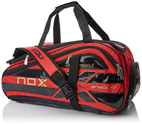 Nox Thermo Attack P.1 Paletero, Unisex Adulto, Rojo