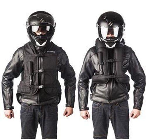 Helite Airnest Turtle Weste Gr. L, Gilet Airbag-Weste Motorrad Motorradairbag...