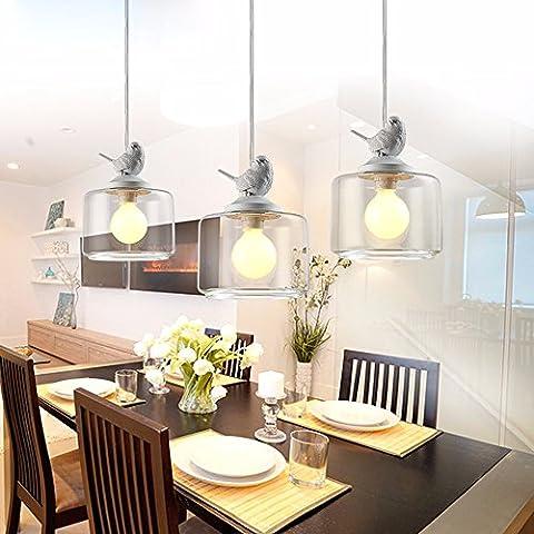 Camera da letto lampade, lampade da soffitto, semplice candelabri in ferro battuto, creative lampade,singolo 20cm*36cm,2kg