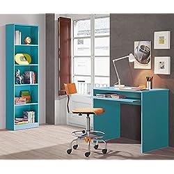 Habitmobel - Pack Habitacion Juvenil Estantería + escritorio