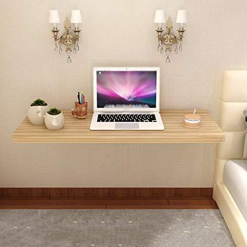 LYQZ Küche Klapp Speisetisch Wand Computer Computer Schreibtisch Haushalt Drop-Leaf Tisch für Kleinen Raum (Farbe : Holz Farbe, größe : 90cm*40cm) -