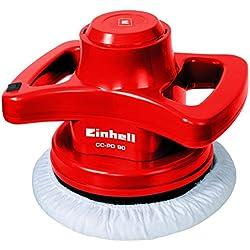 Einhell Polisseuse pour carrosserie CC-PO 90 (90 W, Vitesse d'oscillation : 3300 tours/mn, Diamètre disque : 240 mm, Livré avec 1 bonnet textile et 1 bonnet synthétique)