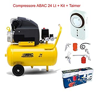 Air Compressor. LT.24ABAC Pole Position with Kit 5Pieces + Timer