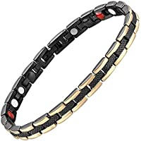 Magnetverschluss Armband Frauen black-all sizes-negative Ion Armband Balance Armband Arthritis Karpaltunnelsyndrom... preisvergleich bei billige-tabletten.eu