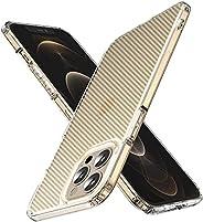 WSKEN Defender Designed for iPhone 12 Pro Max Case, [Military Grade Drop Protection],[Carbon Fiber Series] Sho