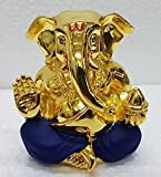 #7: Gold plated Lord Ganesh (4.5x4x3cm)/ Ganesha online/ God ganesh idol/ Vinayaka Idol/ Gold Ganesha/ Vinayaka statue/ Car ganesh/ Vinayagar/ Car dashboard ganesha/ Ganesh Murti/ Ganesh online shopping