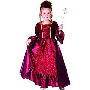 Dress Up America Burgundy Belle Ball Vestido para Niñas