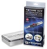 Kemper 12100KIT Kit Microsaldatura a Fiamma Libera, Punte Catalitiche e Accessori