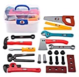 21 PCS Kinderspielhaus Spielzeug Simulation Repair Tool Koffer Toolbox Set