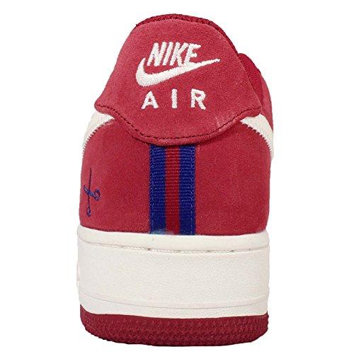 Nike  Air Force 1, espadrilles de basket-ball homme Multicolore - Rojo / Azul (Gym Red / Sail-Deep Royal Blue)