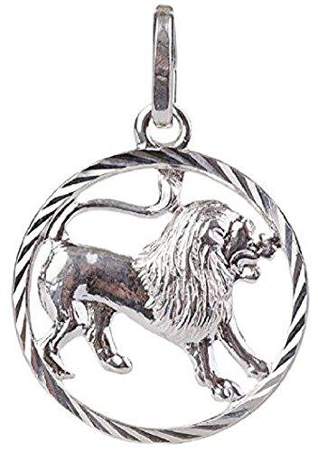 Schmuck Anhänger, Sternzeichen Löwe Silber 925