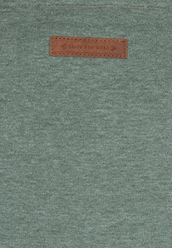 Naketano - Sweat-shirt - Uni - Femme Leaf Green Melange