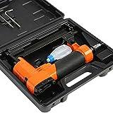 Timbertech Druckluft-Klammergerät für Klammern Nagler Tacker Heftklammern von 6-16 mm -