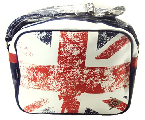 Dunlop Unisex union jack sports Flight Bag (red white blue)