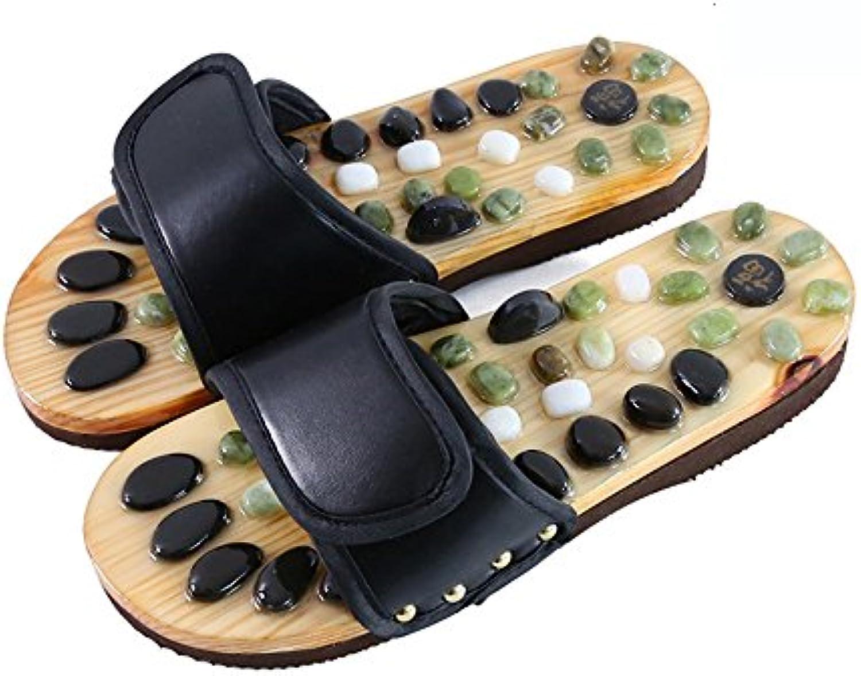 Gemütlich Magnetmassage Hausschuhe Weibliche Paar Steinmassage Hausschuhe Fuß acupoints Hausfußschuhe Sommermassageschuheö