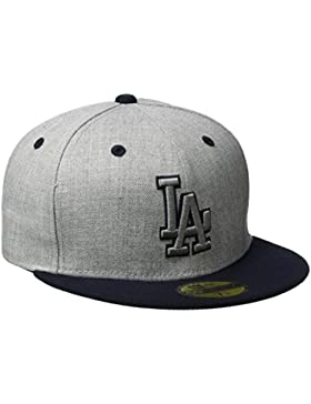 New Era Cap Top Los Angeles Dodgers Gris Heather Gray Talla:7 1/4