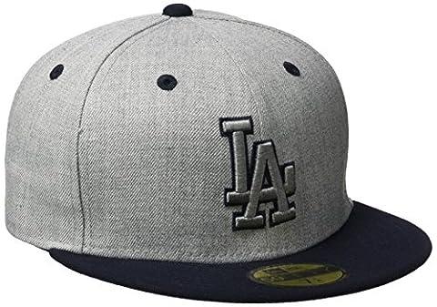 Casquette NEW ERA Top Dodgers de Los Angeles, Mixte, Cap Top Los Angeles Dodgers, Gris chiné