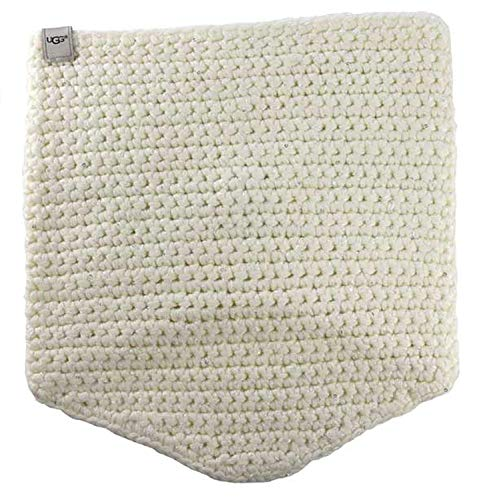 UGG Women's Crochet Snood with Lurex & Sequins Ivory Multi Scarf One Size